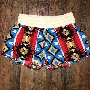 Pants - Aztec Navajo Native shorts